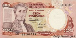 100 Pesos Oro COLOMBIE  1991 P.426e SUP+