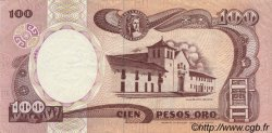 100 Pesos Oro COLOMBIE  1991 P.426A SUP