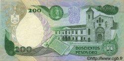 200 Pesos Oro COLOMBIE  1983 P.428a TTB+