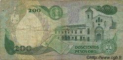 200 Pesos Oro COLOMBIE  1983 P.429a TB