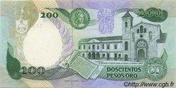 200 Pesos Oro COLOMBIE  1985 P.429c NEUF