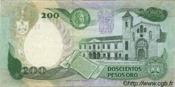 200 Pesos Oro COLOMBIE  1988 P.429d SUP