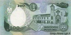 200 Pesos Oro COLOMBIE  1992 P.429A SUP