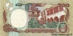 500 Pesos Oro COLOMBIE  1987 P.431 SPL