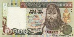 10000 Pesos Oro COLOMBIE  1992 P.437 pr.NEUF