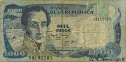 1000 Pesos COLOMBIE  1994 P.438 TB
