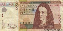 10000 Pesos COLOMBIE  1995 P.443 TTB
