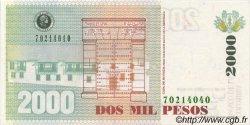 2000 Pesos COLOMBIE  2000 P.445 pr.NEUF