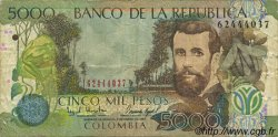 5000 Pesos COLOMBIE  1997 P.446 pr.TB