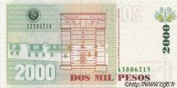 2000 Pesos COLOMBIE  2003 P.451 NEUF