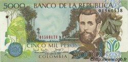 5000 Pesos COLOMBIE  2003 P.452d NEUF