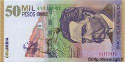 50000 Pesos COLOMBIE  2002 P.455c NEUF