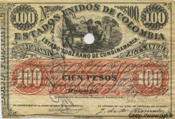 100 Pesos COLOMBIE  1871 PS.0166 SUP