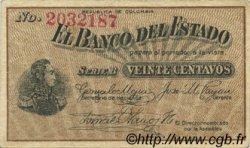 20 Centavos COLOMBIE  1900 PS.0502a TTB