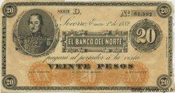 20 Pesos COLOMBIE  1882 PS.0684 TTB+