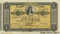 1 Peso COLOMBIE  1883 PS.0711a SUP