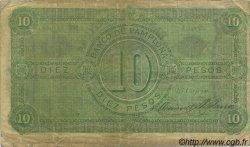 10 Pesos COLOMBIE  1884 PS.0713 TB+