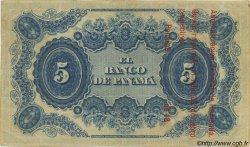 5 Pesos COLOMBIE  1869 PS.0722 TTB+
