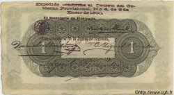 1 Peso COLOMBIE  1900 PS.0831c SUP