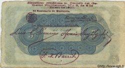 5 Pesos COLOMBIE  1900 PS.0832b TTB