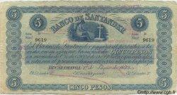 5 Pesos COLOMBIE  1900 PS.0832b TTB+