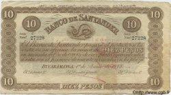 10 Pesos COLOMBIE  1900 PS.0833b TTB