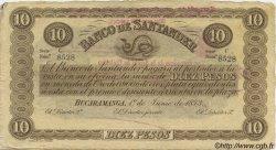 10 Pesos COLOMBIE  1900 PS.0833b pr.SUP
