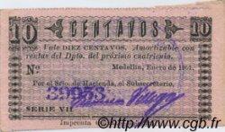 10 Centavos COLOMBIE  1901 PS.1021a SPL