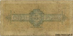 5 Pesos COLOMBIE  1901 PS.1088a B+