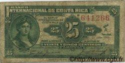 25 Centimos COSTA RICA  1919 P.156 pr.TB