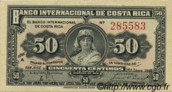50 Centimos COSTA RICA  1918 P.157 SPL