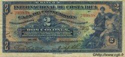 2 Colones COSTA RICA  1925 P.184 TTB