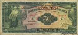 50 Colones COSTA RICA  1941 P.193 TB