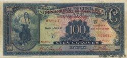 100 Colones COSTA RICA  1939 P.194a TTB+
