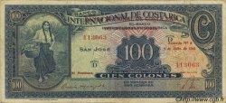 100 Colones COSTA RICA  1941 P.194b pr.TTB