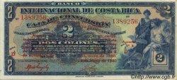 2 Colones COSTA RICA  1940 P.197b SPL