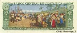 5 Colones COSTA RICA  1986 P.236d NEUF