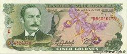 5 Colones COSTA RICA  1989 P.236d pr.NEUF