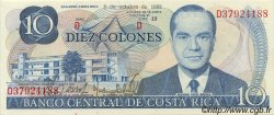 10 Colones COSTA RICA  1985 P.237b NEUF