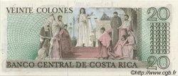 20 Colones COSTA RICA  1975 P.238b NEUF