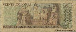 20 Colones COSTA RICA  1980 P.238c B+