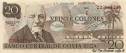 20 Colones COSTA RICA  1982 P.238c pr.NEUF