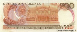 500 Colones COSTA RICA  1989 P.255 NEUF