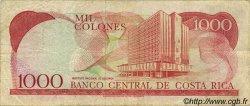 1000 Colones COSTA RICA  1989 P.256 TB