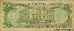 50 Colones COSTA RICA  1991 P.257a B+