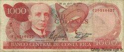1000 Colones COSTA RICA  1990 P.259a TB+