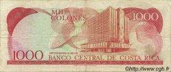 1000 Colones COSTA RICA  1990 P.259a TTB