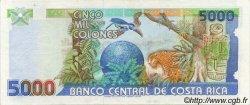 5000 Colones COSTA RICA  1994 P.260b SUP