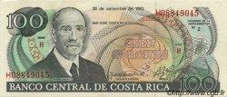 100 Colones COSTA RICA  1993 P.261a pr.SPL