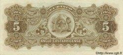 5 Colones COSTA RICA  1917 PS.122s2 SPL+